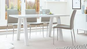 6 Seater Oak Dining Table And Chairs Zen 6 Seater White Gloss Dining Table Modern Oak Dining Table
