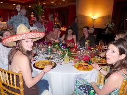 bring a different party with mexican party decorations the