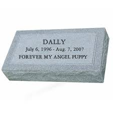 granite grave markers personalized grey granite pet grave marker three great sizes