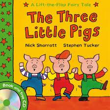 amazon pigs lift flap fairy tales