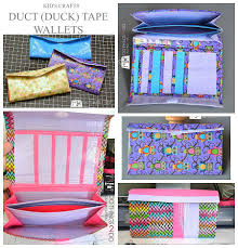 how to make a duct tape wallet 100 things 2 do