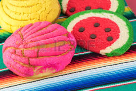 Mexican Table Runner Close Up Of Mexican Butter Cookies And Maracas On A Wooden Tray