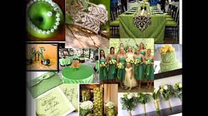 themed wedding decor green themed wedding decorations ideas