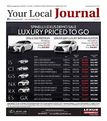 lexus ls 460 kijiji your local journal march 23rd 2017 by your local journal issuu