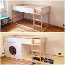 Ikea Kura Bunk Bed Ikea Kura Bed With Added Steps And Extra Safety Bar On Top Bunk