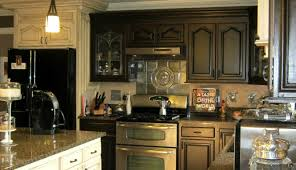 Parker Bailey Kitchen Cabinet Cream Red Distressed Kitchen Cabinets Distressed Kitchen Cabinets For
