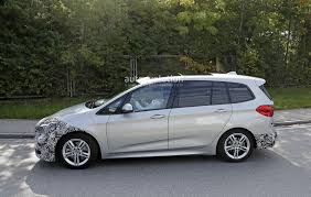 bmw minivan spyshots 2018 bmw 2 series gran tourer facelift has hexagonal