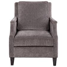 Gray Accent Chair Uttermost 23312 Dallen Pewter Gray Accent Chair Homeclick