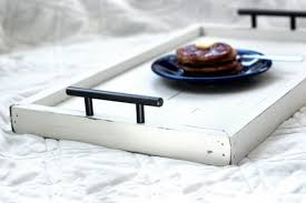 buy a hand made serving tray housewarming gift bed tray table