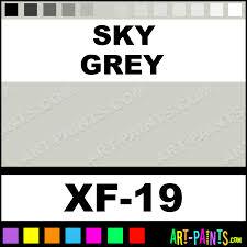 sky grey color acrylic paints xf 19 sky grey paint sky grey