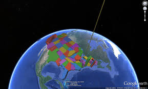 United States Population Distribution Map by Picsdoc United States Population Density Shown In Google Earth