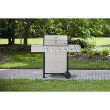 amazon com kenmore 4 burner gas grill with stainless steel lid