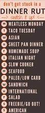 best 25 dinner menu ideas on pinterest menu planning family