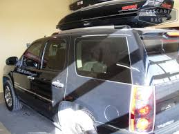 gmc yukon trunk space cascade rack car top cargo box installation 2008 gmc yukon