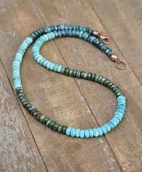 real turquoise necklace images Necklaces rustica jewelry jpg