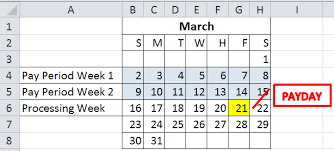 using date math in excel to calculate payday dates the