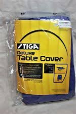 stiga deluxe table tennis table cover ping pong table cover ebay