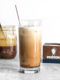 Adding Salt To Coffee Homemade Salted Caramel Iced Coffee Budget Bytes