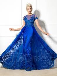 designer royal blue evening dresses tbdress com