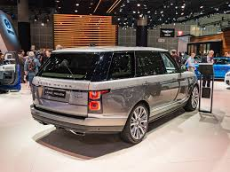 customized range rover 2017 2018 land rover range rover svautobiography bows in los angeles
