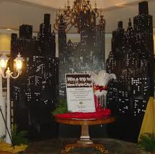 New York Themed Centerpieces by Perfect Backdrops In Any Room For A New York Themed Party O U0027brien