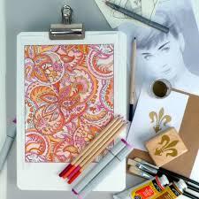 Mine 2 Design Lap Desk Clip U0026 Create Rotating Design Board Totally Tiffany Products