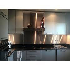 plaque autocollante cuisine plaque aluminium pour cuisine 4 porte accessoires plaque alu