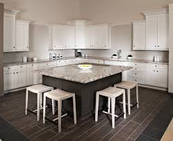flooring brown bedrosians tile with white kitchen cabinet plus