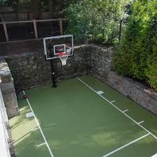 How To Build A Basketball Court In Backyard Best 25 Outdoor Basketball Court Ideas On Pinterest Backyard