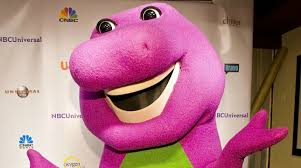 who played barney the man behind the dino mask tells all first