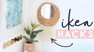 ikea hacks and diys home decor on a budget from ikea august