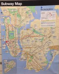 Ny City Subway Map Download Subway Map New York Ny Major Tourist Attractions Maps