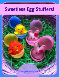 easter stuffers rockabye butterfly sweetless egg stuffers