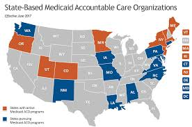 United States Learning Map by Medicaid Accountable Care Organization Learning Collaborative