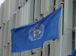 flag of the world health organization file flag of world health organization at un city jpg wikimedia