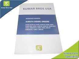 new kubota v2203 engine workshop manual u2022 25 00 picclick