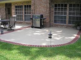 Concrete Patio Blocks Creative Concrete And Brick Patio Also Inspiration Interior Home
