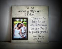 wedding thank you gift ideas wedding officiant gift for the friend wedding
