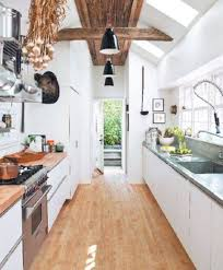 galley kitchen home design and decor