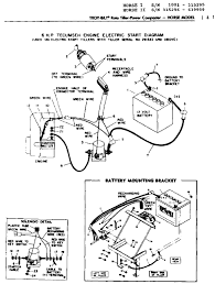 troy bilt bronco wiring diagram with schematic pics 74249