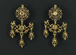 girandole earrings antique girandole earrings precious antique jewellery