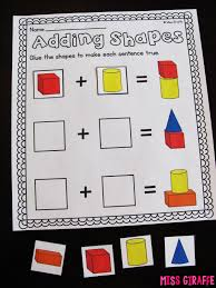 learn 2d and 3d shapes miss giraffe u0027s class composing shapes in 1st grade