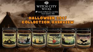 witch city wicks 2017 halloween candle collection overview