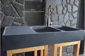 granite kitchen sinks uk double bowl kitchen sink granite stone besso