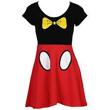 amazon disney mickey minnie mouse costume juniors