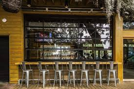 Glass Overhead Garage Doors Our Favorite Uses For Glass Doors On Restaurants Overhead Door