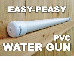 easy peasy pvc water gun 8 steps with pictures