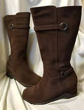 s brown boots canada wedge suede boots blondo for ebay