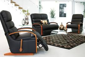 Harvey Norman Recliner Chairs Charleston 3 Piece Leather Recliner Lounge Suite By La Z Boy