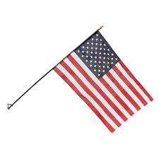 American Flag Magnet Stick Flag Holder For Walls In Offices And Classrooms
